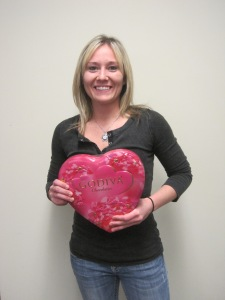 Freight Broker Sarah Carter helps Godiva to bring Valentine's Day chocolates to you.